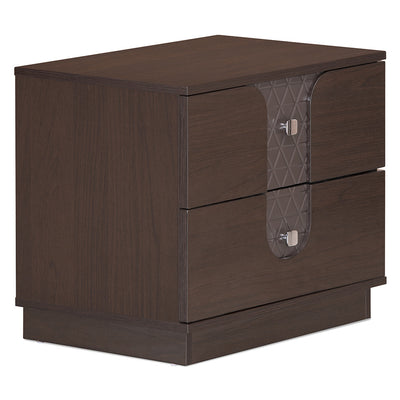 Triumph Night Stand Two Drawer (Walnut)