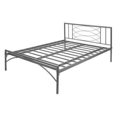 Ursa Queen Size Bed Without Storage (Black)