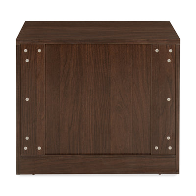 Valentino 3 Chest of Drawers (Dark Walnut)