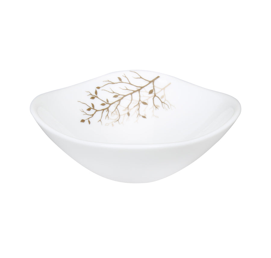 Laopala Quadra Autumnal Veg Bowl Set Of 6 (White)