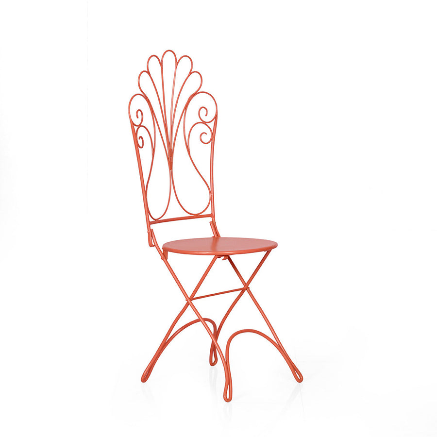 Vine Garden Chair (Red)