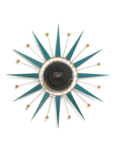 Zeus Wall Clock (Sea Green)