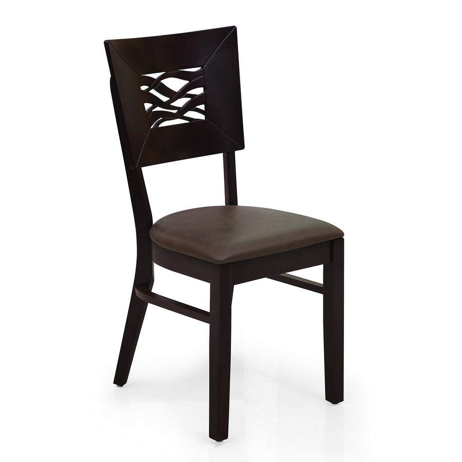 Waves Dining Chair (Erin Brown)