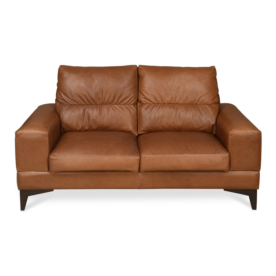 Willis Two Seater Sofa (Tan Brown)