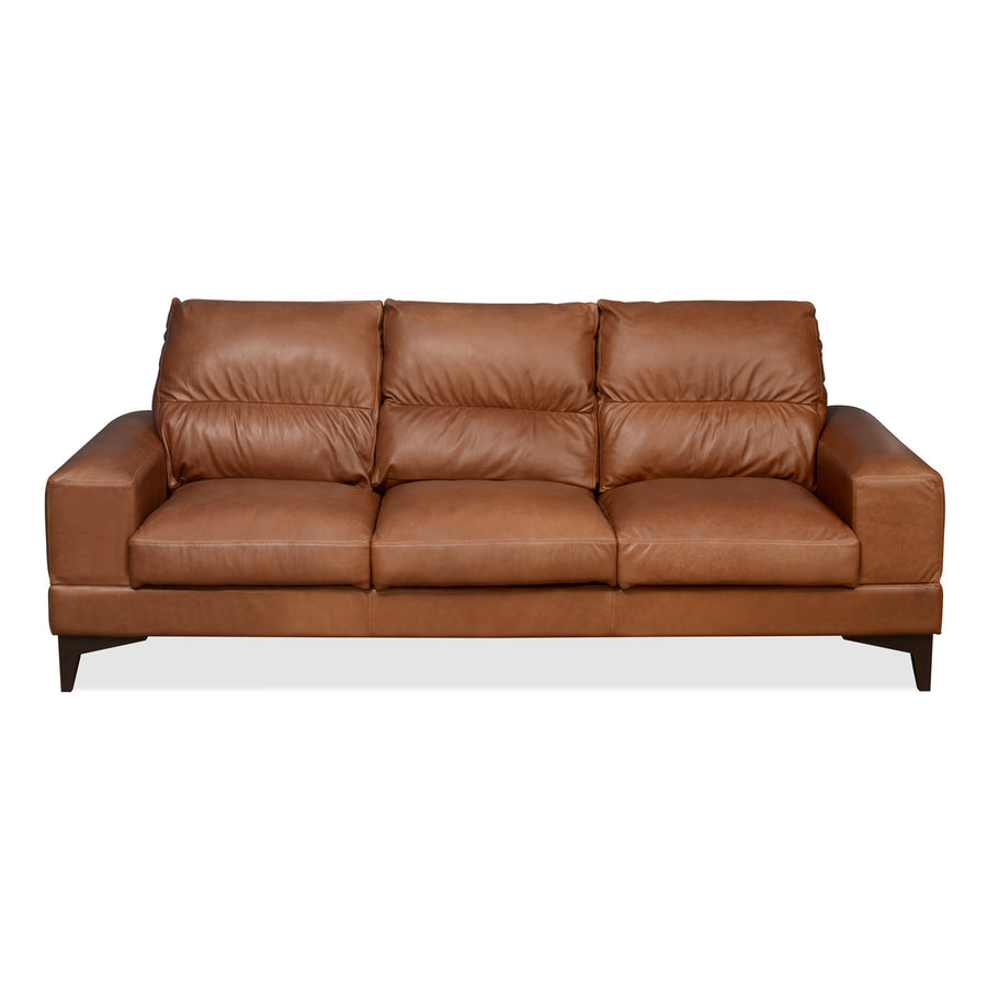 Willis Three Seater Sofa (Tan Brown)
