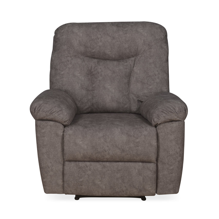 Winters 1 Seater Sofa with 1 Manual Recliner (Rose Grey)