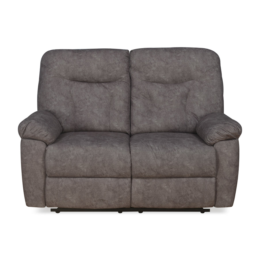 Winters 2 Seater Sofa with 2 Manual Recliners (Rose Grey)