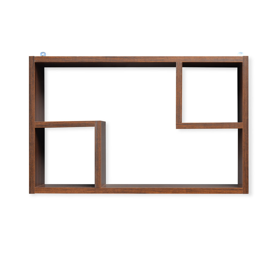 Zoe American Wall Shelf (Walnut)