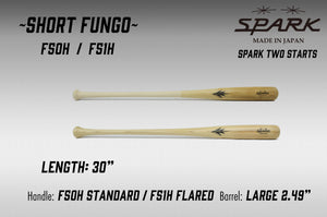Short fungo Two Starts -Natural-