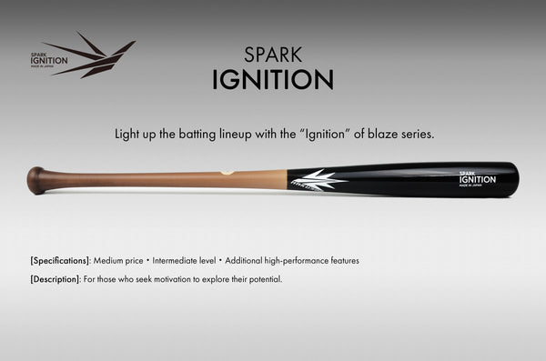 Spark Ignition H110 Maple Wood Bat