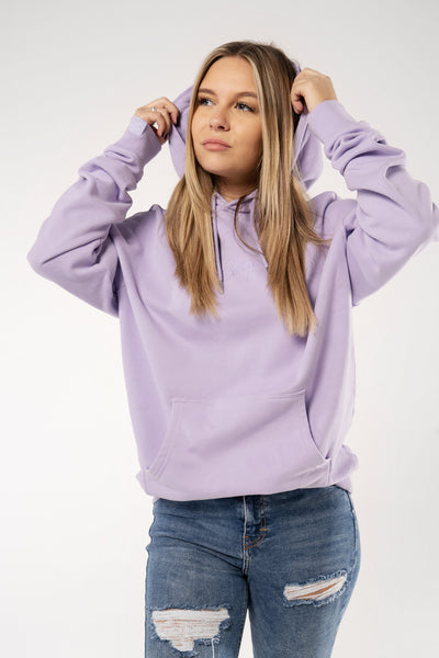 Beetique Basic Hoodie Lavendel I 100% Baumwolle I Kosmetik- und Make Up Brand