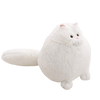 Grosse Peluche Chat Blanc - Peluche planete
