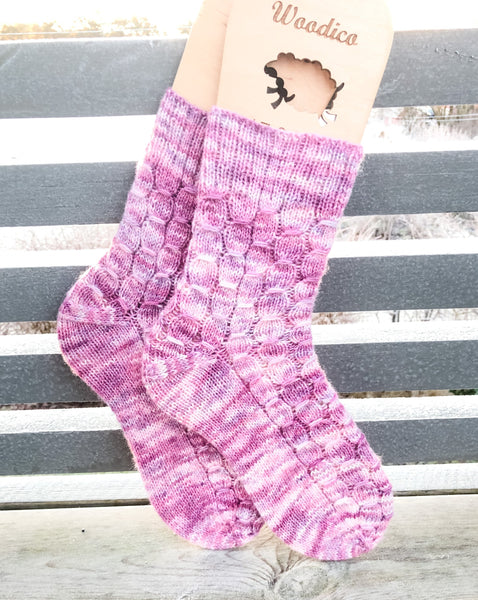 Sunny Socks Pattern Only -  Digital Pattern in English/Norwegian - Norwegian design