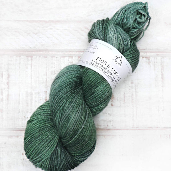Boreal Forest - Trollfjord sock - Variegated Yarn - Hand dyed yarn