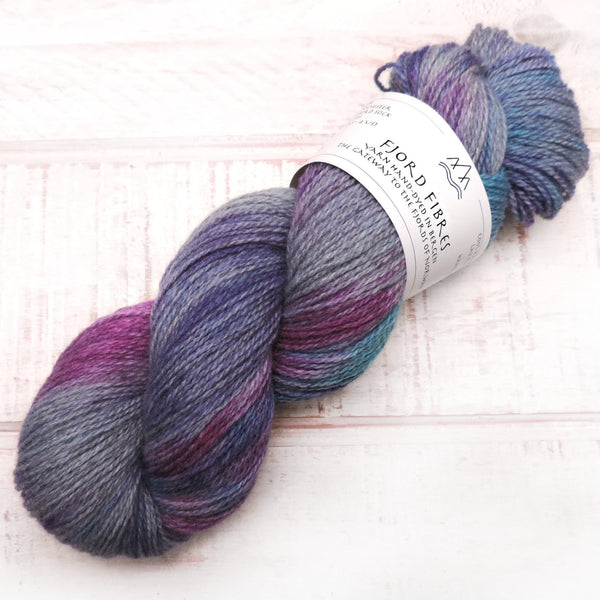 Cosmic Forces - Trollfjord Sock - Variegated Yarn - Hand dyed yarn