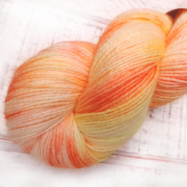 Happiness - Trollfjord sock - Hand Dyed Yarn - Variegated Yarn