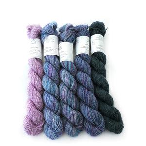 Cosmic Mini Skein Set - Trollfjord Sock - Hand Dyed Sock Yarn - Variegated Yarn