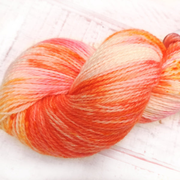 Fiesta Fun - Trollfjord sock - Hand Dyed Yarn - Variegated Yarn