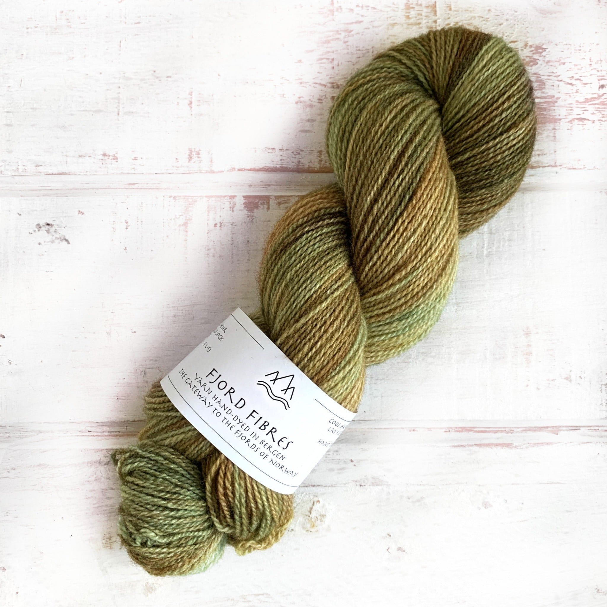 Woodland Grove - Trollfjord sock - Hand Dyed Yarn - Variegated Yarn