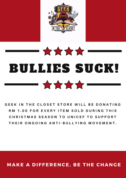 Bullies Suck Donation Drive