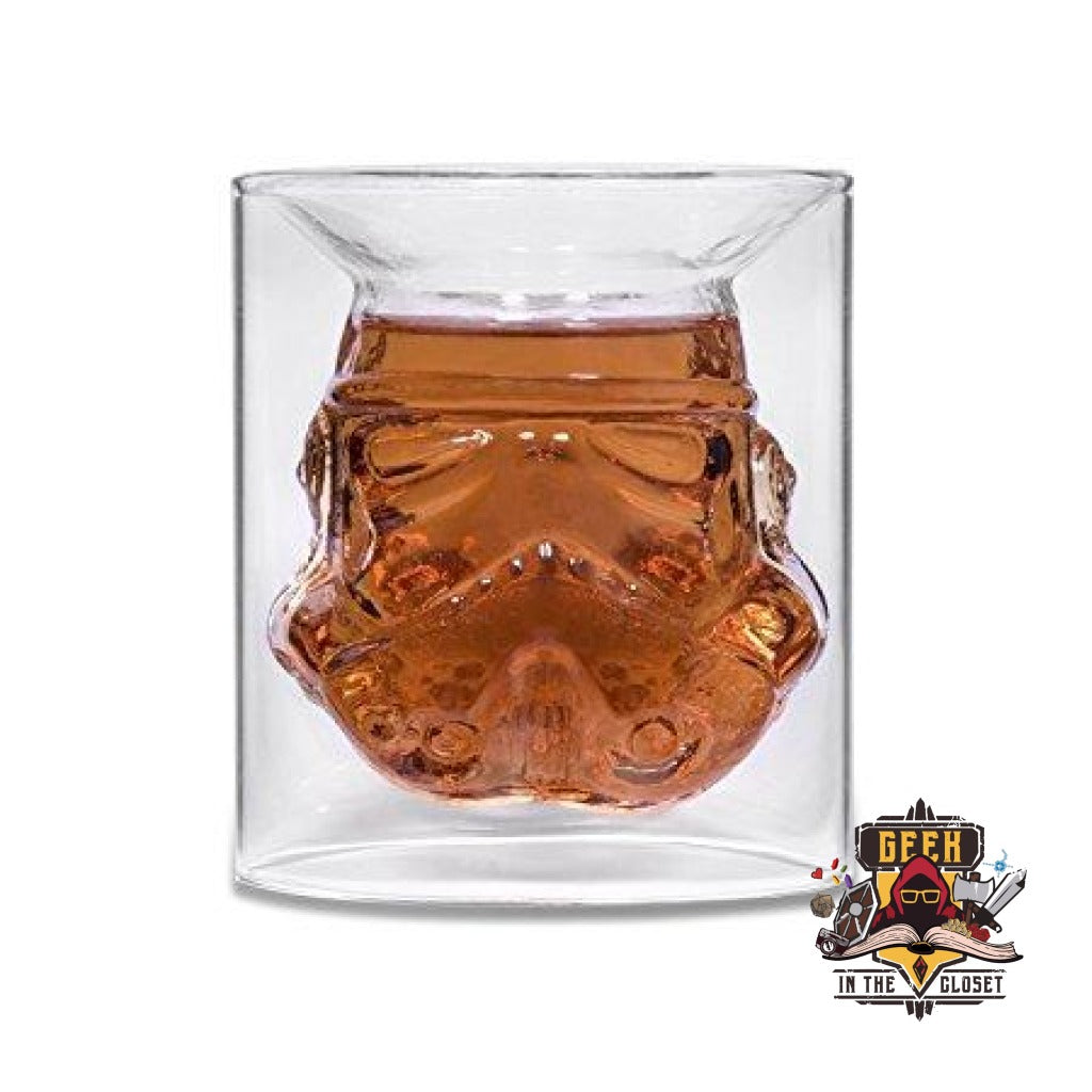 Stormtrooper Rock Glass
