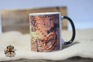 Heat Changing Lord Of The Rings Mug Mugs