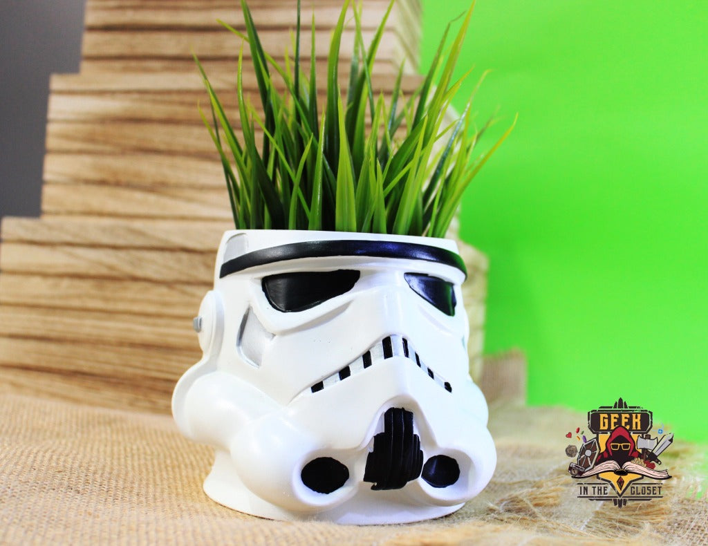 Stormtrooper Flower Pot Pot