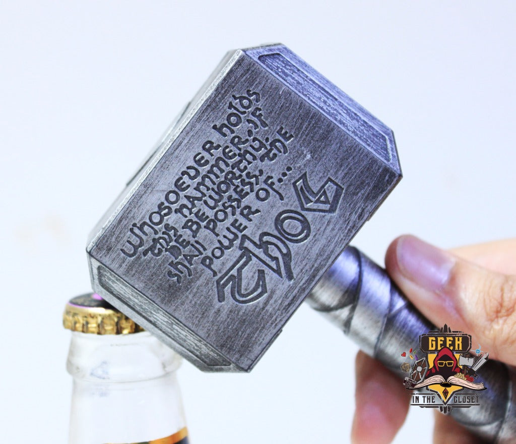 Mjolnir Bottle Opener
