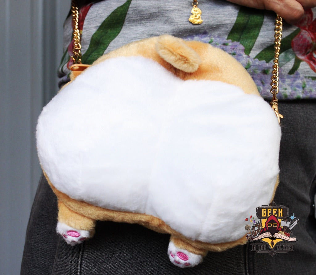 Corgi Butt Sling Bag Bags