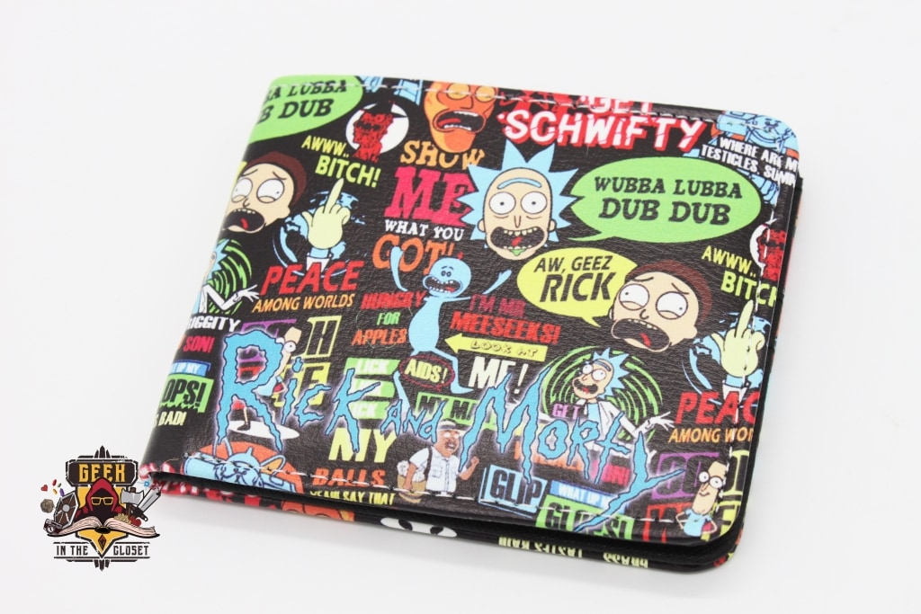 Rick And Morty Wallet Wallets