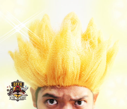 Dragon Ball Super Saiyan Wig