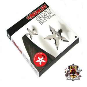 Shuriken Coat Hanger