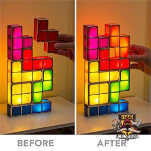 Tetris Night Lamp