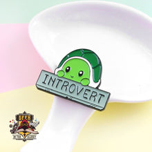 Introvert Turtle Steel Geeky Pin