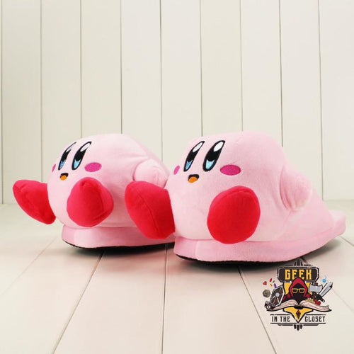 Kirby Plush Slippers