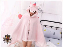 Soft Unicorn Hooded Blanket