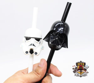 Star Wars Reusable Plastic Straws