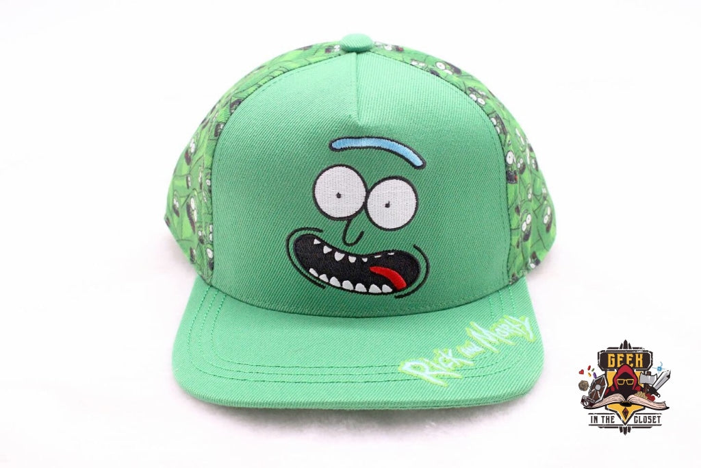 Pickle Rick Cap