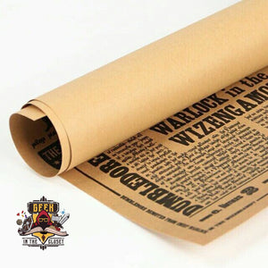 Harry Potter Newspaper Poster