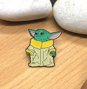 Baby Yoda The Mandalorian Pins