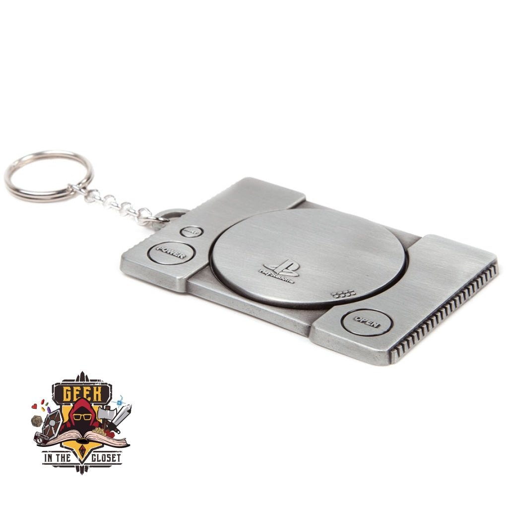 PlayStation One Keychain