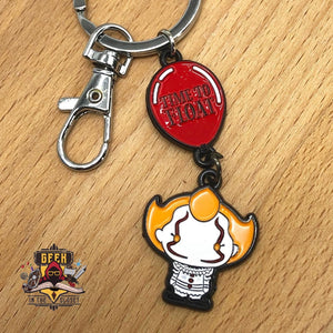 IT Pennywise the Clown Steel Keychain