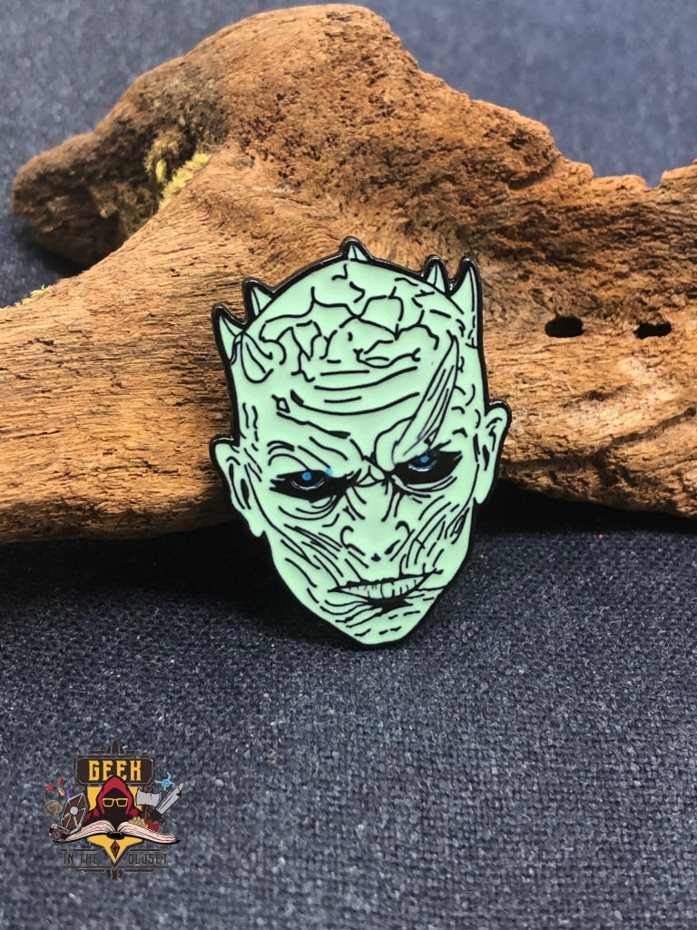 Game of Thrones Night King Geeky Steel Pin