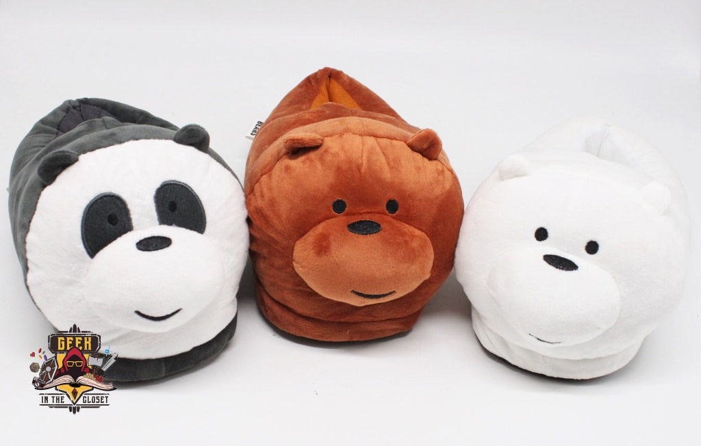 We Bare Bears Slippers – Geek in the