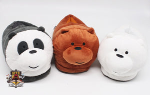 We Bare Bears Slippers