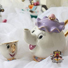 Beauty And The Beast Mrs Potts Chip Teapot Set