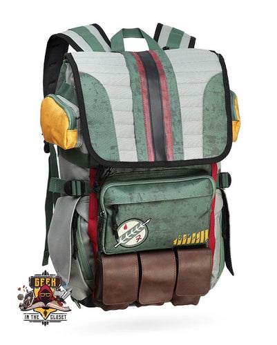 Boba Fett Mandalorian Armour Backpack