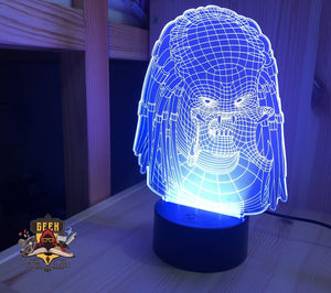 Predator 3D Night Lamp