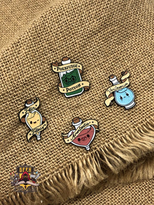 Harry Potter Potion Pins