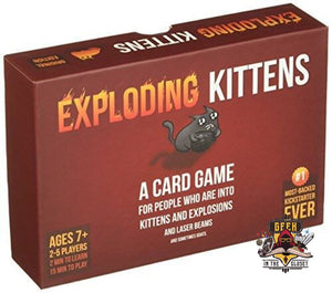 Exploding Kittens Card Game Games